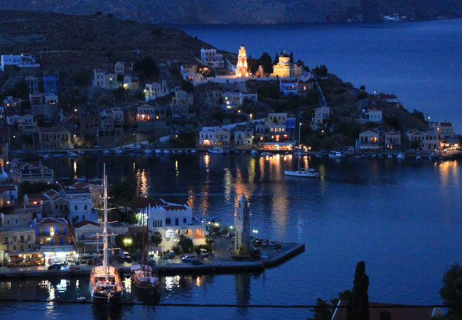 Symi, night delight